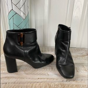 MICHAEL Michael Kors Ankle Leather Boots Size 8.5
